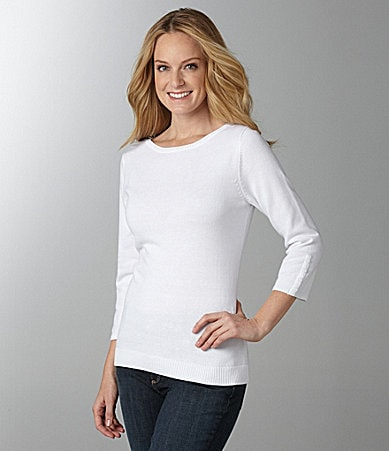 Westbound Boatneck Slub Knit Top