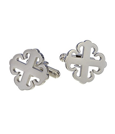 Murano Gothic Cross Cuff Links