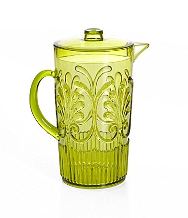 Summer Oasis Embossed Acrylic Pitcher