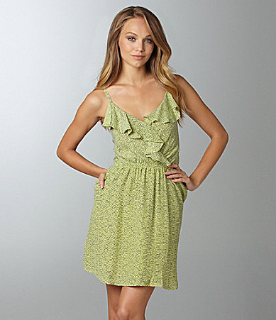 BCBGeneration Ruffle Dress