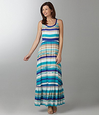 Antonio Melani Suzy Striped Maxi Dress