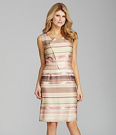 Antonio Melani Jorja Stripe Fold Dress