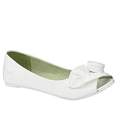 Blowfish Girls Skaria Peep-Toe Flats