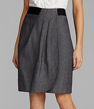 Antonio Melani Lulu Linen Pleat Skirt