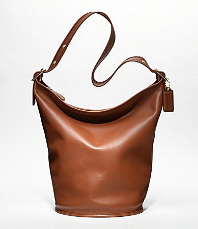 COACH CLASSIC  LEATHER DUFFLE