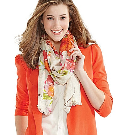 Collection XIIX Floral Oversized Scarf