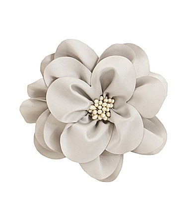Cara Satin Flower Pin