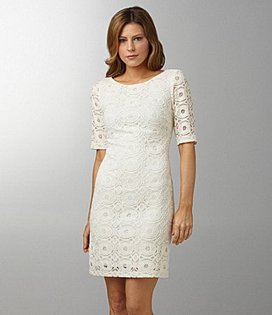 Night Way Lace Sheath Dress