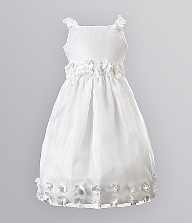 Jayne Copeland 7-12 Organza Flower Dress