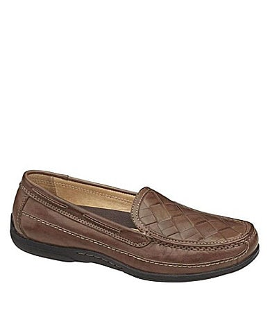 Johnston & Murphy Men�s Trevitt Woven Slip-On Loafers