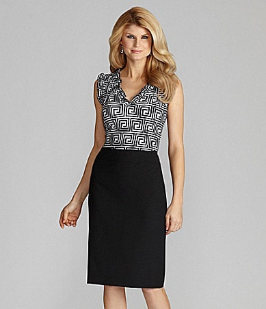 Antonio Melani Grace Knit Top & Charlie Straight Skirt