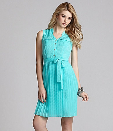 Cremieux Sara Pleated Dress