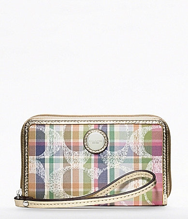 COACH POPPY MADRAS UNIVERSAL CASE