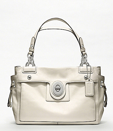 COACH PEYTON LEATHER CARRYALL