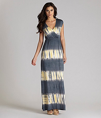 Gianni Bini Haley Tie-Dye Maxi Dress