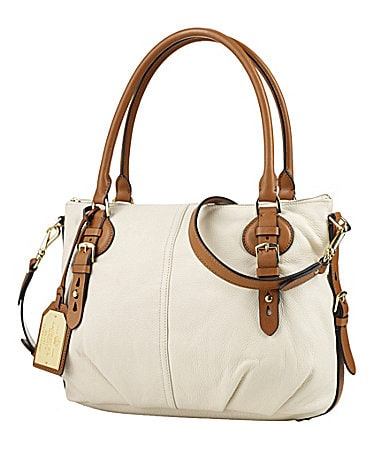 Lauren Ralph Lauren Asher Tumbled Leather Satchel