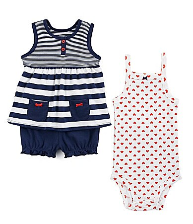Carter�s Infant Striped Swing Top Set