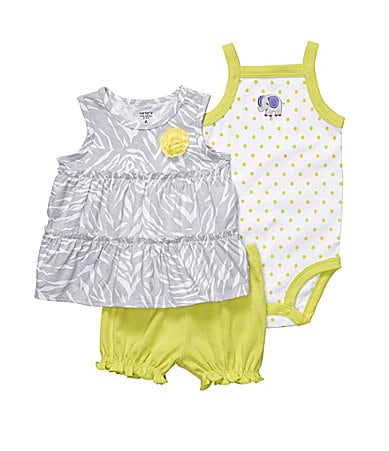 Carter�s Infant Zebra Swing Top Set