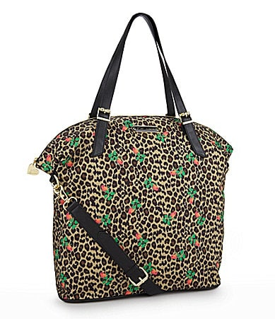 Betsey Johnson Cheetah Baby Tote