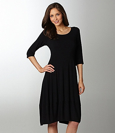 Eileen Fisher Jersey Lantern Dress