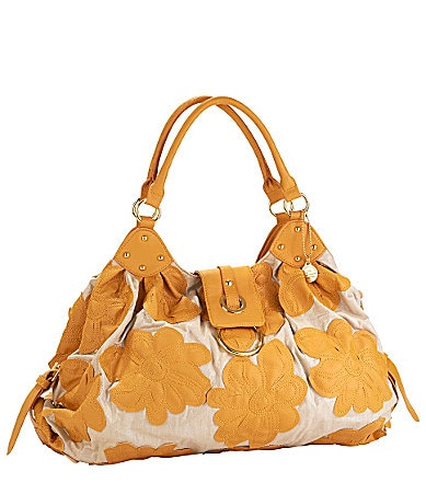 Big Buddha Leilana Flower Satchel