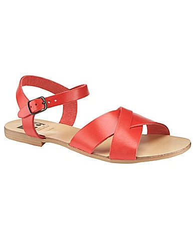 BC Swagger Flat Leather Sandals