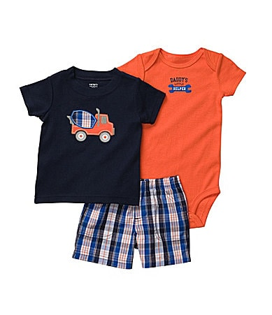 Carter�s Newborn Truck Shorts Set