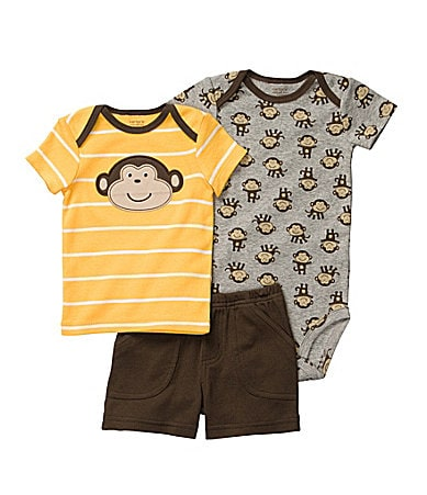 Carter�s Infant Monkey Short Set