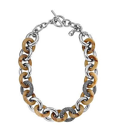 Michael Kors Horn Link Necklace