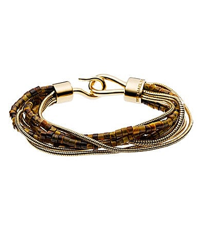 Michael Kors Tiger�s Eye Multi Chain Bracelet