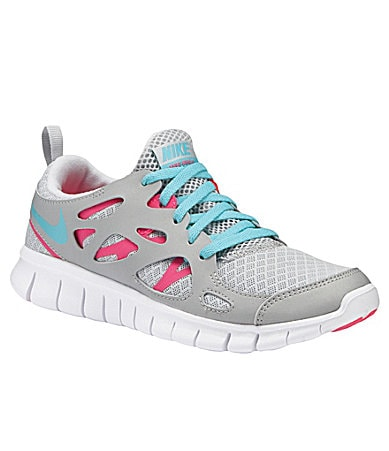 Nike Girls Free Run 2 Running Shoes