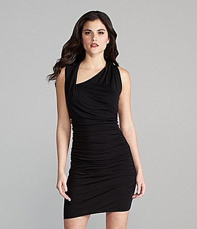 Gianni Bini Wanda Ruched Jersey Dress