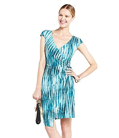 BCBGMAXAZRIA Marian Side Wrap Dress