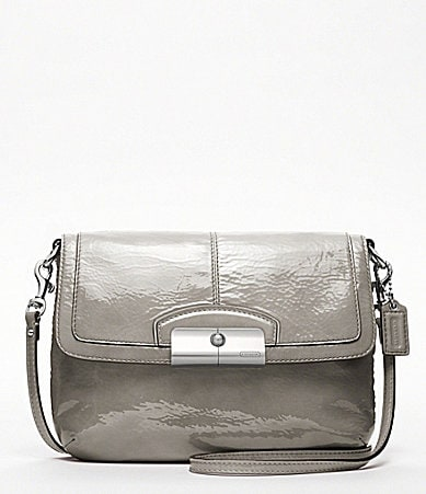 COACH KRISTIN PATENT LEATHER CROSSBODY