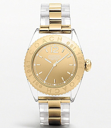 COACH ANDEE BRACELET WATCH