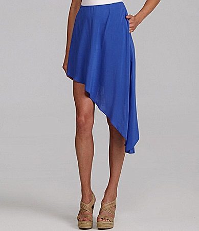 BCBGeneration Asymmetric-Hem Skirt