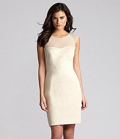 Gianni Bini Anastasia Illusion Dress