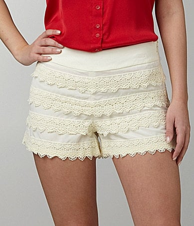 Kensie Lace Shorts