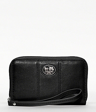 COACH SUTTON LEATHER UNIVERSAL CASE