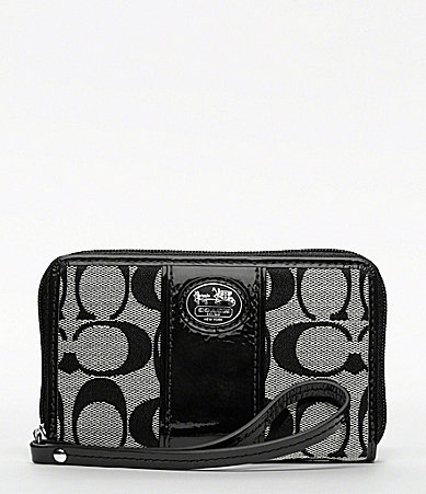 COACH SUTTON SIGNATURE UNIVERSAL CASE