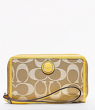 COACH POPPY LOGO SIGNATURE UNIVERSAL CASE