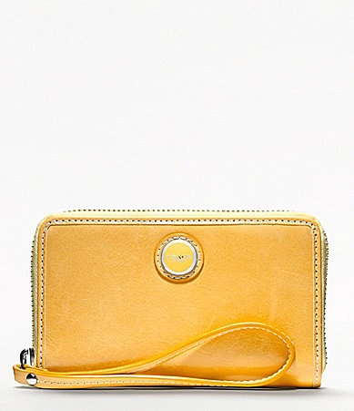 COACH POPPY LEATHER UNIVERSAL CASE