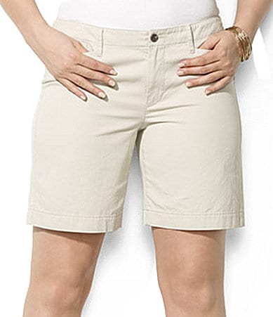 Lauren Ralph Lauren Woman Jason Twill Shorts