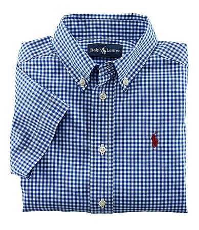Ralph Lauren Childrenswear 2T-7 Blake Plaid Woven Shirt