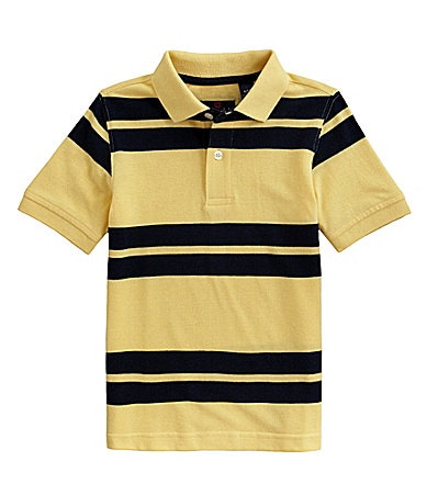 Class Club 8-20 Stripe Pique Polo