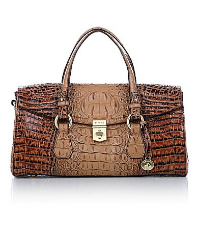 Brahmin Toasted Almond Collection Bridget Satchel