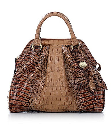 Brahmin Toasted Almond Collection Sara Rose Satchel