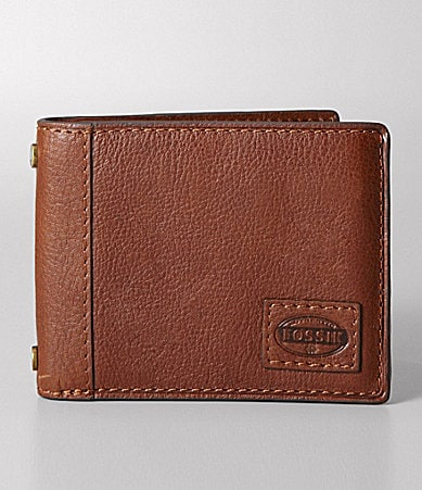 Fossil Workman Traveler Trifold Wallet