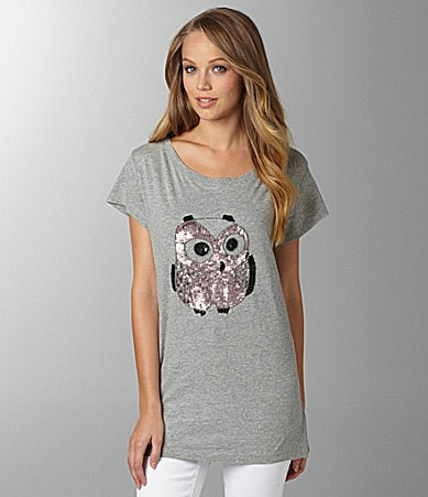 French Connection Lady Owl Top