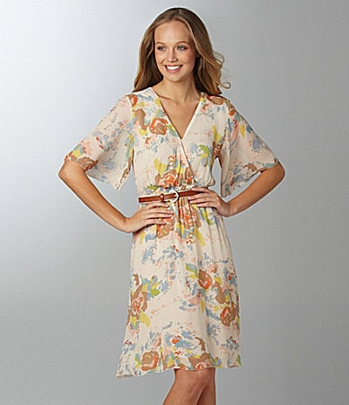 Sanctuary Clothing Spring Tea Print Dress